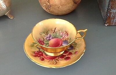 Paragon Fine Bone China Tea Cup And Saucer Stunning Vibrant Colors