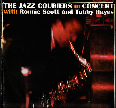 """The Jazz Couriers Uk Lp - """"in Concert"""" (With Tubby Hayes)"""