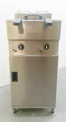 Valentine V2200 3 Phase Electric Commercial Catering Twin Tank Deep Fat Fryer