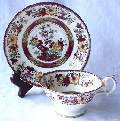 C19Th Minton Bombay Japan Pattern Cup And Saucer Pattern # 8063