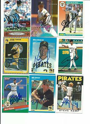 Pittsburgh   Pirates     9   Card   Autographed   Lot