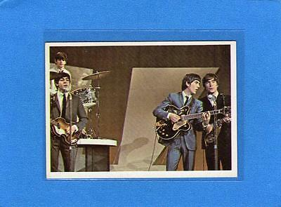 The Beatles US Original Topps 1960's Color Cards Bubble Gum Card # 55