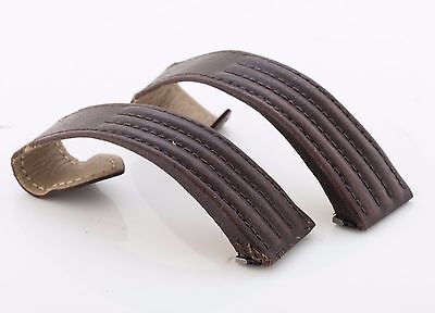 Cartier Roadster 20mm brown calf leather watch strap, 100% genuine