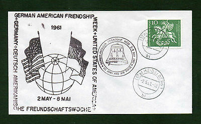 Germany 1961 German American Friendship Cover 1961