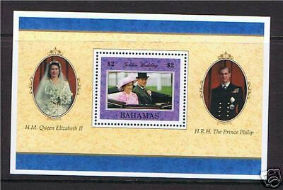 Bahamas 1997 Golden Wedding M.S. SG1120 MNH