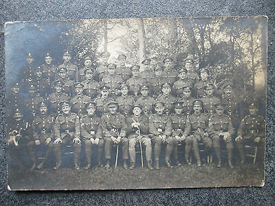 RP WW1 RAMC Royal Army Medical Corps Group B Section133 Field Ambulance May 1918