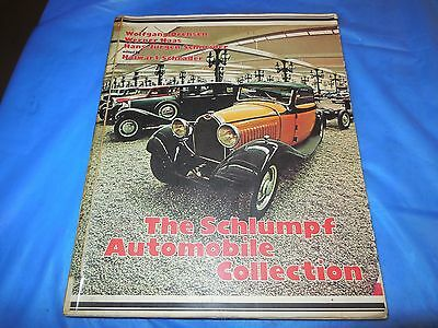 """1977 """"the Schlumpf Automobile Collection"""" Book By Wolfgang Drehsen In German!!!"""