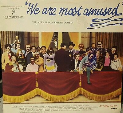 Comedy 2 x LP We Are Most Amused Monty Python