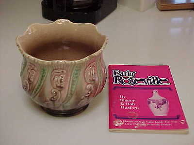 """Early Roseville Pottery Jariniere 7""""x 5 3/4"""""""