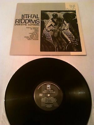 Various - Lethal Riddims Dancehall Superhits 'promo' Lp / Ini Kamoze Beenie Man