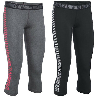 Under Armour 2017 Womens Favorite Capri Sports Gym Training Baselayer Legging