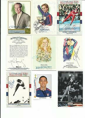 Assorted     9    Card   Autographed   Lot