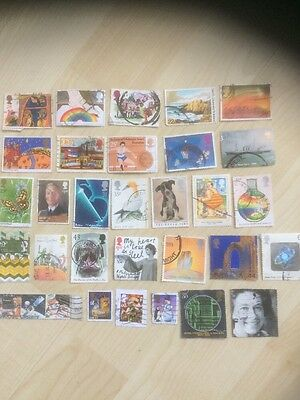30 High Value Commemorative Stamps