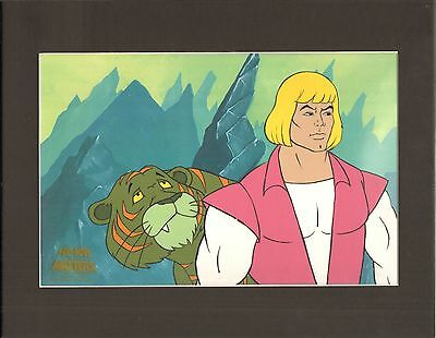 He-Man Masters of the universe Original Production Animation Art Cel 2*