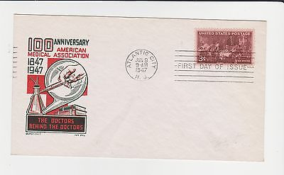 100 Anniversary American Medical Association 1947 First Day Cover