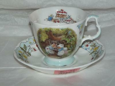 Royal Doulton Brambly Hedge Jill Barklem The ENGAGEMENT CUP & SAUCER
