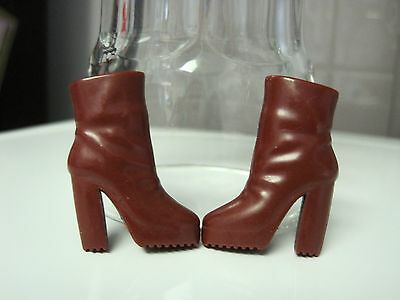 Barbie Doll Clothes/shoes *mattel High Heel Boots   *new*  #663