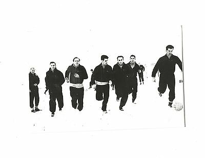 NORTHAMPTON TOWN - Copy of photo showing players training in snow