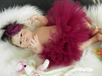 Lifelike Reborn Baby Doll ''Dixie'' by Sylvia Manning