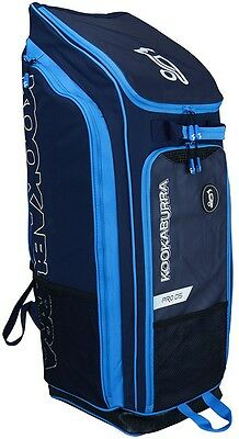 2017 Kookaburra Pro D5 Navy Cyan Duffle Cricket Bag