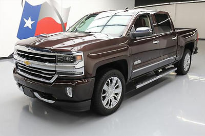 2016 Chevrolet Silverado 1500  2016 CHEVY SILVERADO HIGH COUNTRY CREW NAV 20'S 13K MI #226789 Texas Direct Auto