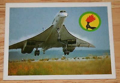 Old Air France Concorde Sticker