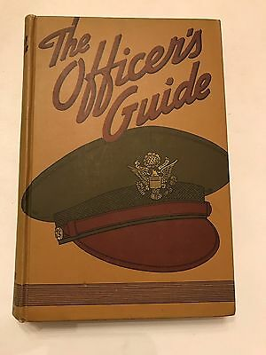 WW II The Officer's Guide 1942 9th Edition Army of the United States