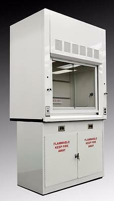 Chemical Laboratory 4' Fume Hood - Flammable Base Storage Cabinet NLS-401