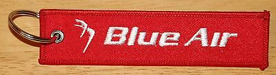 Blue Air Romanian Airlines Remove Before Flight Keyring