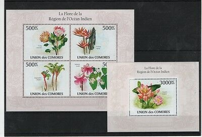D5. Comoro - MNH - Nature - Flowers