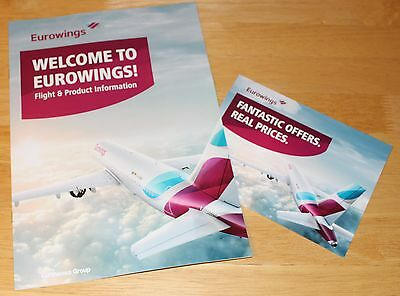 Eurowings (Germany) Airline Flight & Product Information Brochures