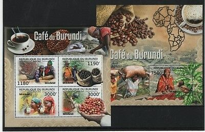 K4. Burundi - MNH - Nature - Plants - Spices