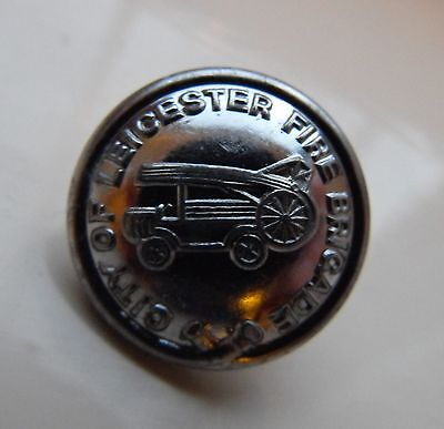 City of Leicester Fire Service Button - Obsolete