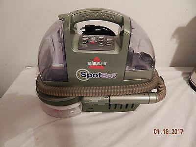 Bissell Carpet Shampooer Spotbot Good Used Home Auto Model 1200 B Portable Pets