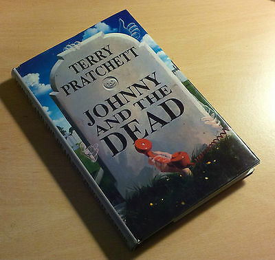 Sir Terry Pratchett SIGNED Johnny and the dead 1st/1st edition UK Hardback