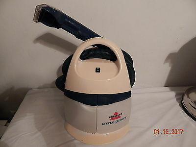 Bissell Carpet DEEP CLEANER Carpet Upholstery Home Auto Model 1720-w Portable