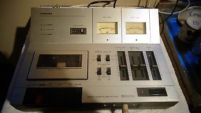Toshiba Auto Tape PC-4030 Dolby System Selector Bias Equalizer selector