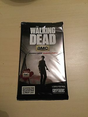 THE WALKING DEAD SEASON 4 PART 2   -  Factory Sealed Pack