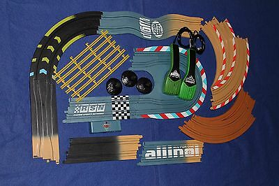 Micro Scalextric - Extra/Spare Track Sections, controllers etc. Disney Cars Set.