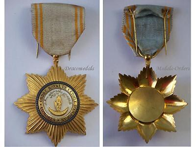 Comoros Order Star Anjouan Knight Military Medal Decoration French Protectorate