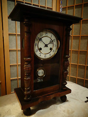 Antique West German Hass Vienna Wall Clock