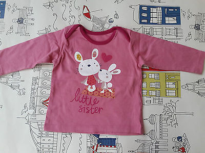 Marks And Spencers Little Sister T Shirt 3-6 Months