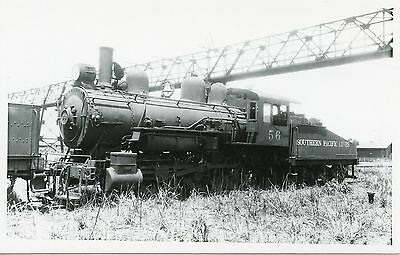 5H879 RPPC 1940/50s? SOUTHERN PACIFIC RAILROAD ENGINE #56