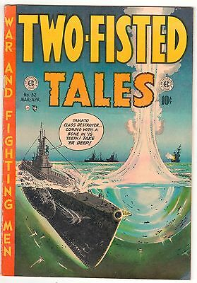 TWO FISTED TALES  #32  Mar/April 1953 - 10c - EC Very Good American