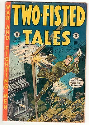 TWO FISTED TALES  #33  May/June 1953 - 10c - EC  American COMICS