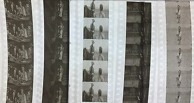 The Good The Bad The Ugly - Clint Eastwood - 5 strips of 5 35mm Film Cells