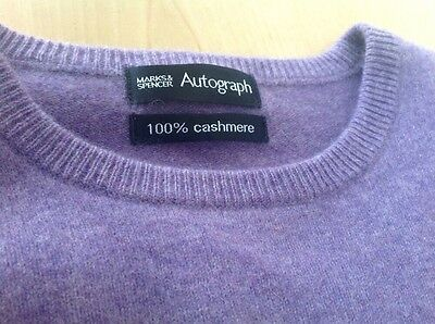 "Cashmere Jumper by Autograph - New - S - 20"" Pit To Pit"