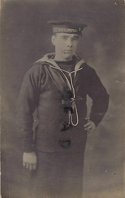 WW1 Sailor Royal Navy HMS Superb