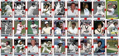 England's Ashes victory 1981 cricket Trading Cards