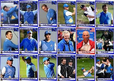 2010 Ryder Cup Golf Trading Cards - European Squad Celtic Manor